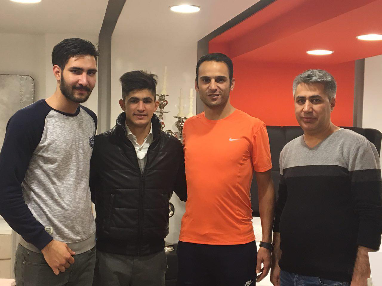 Iranian Athlete visiting MattressHome